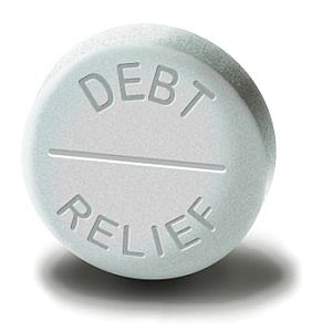 debt-relief-pill