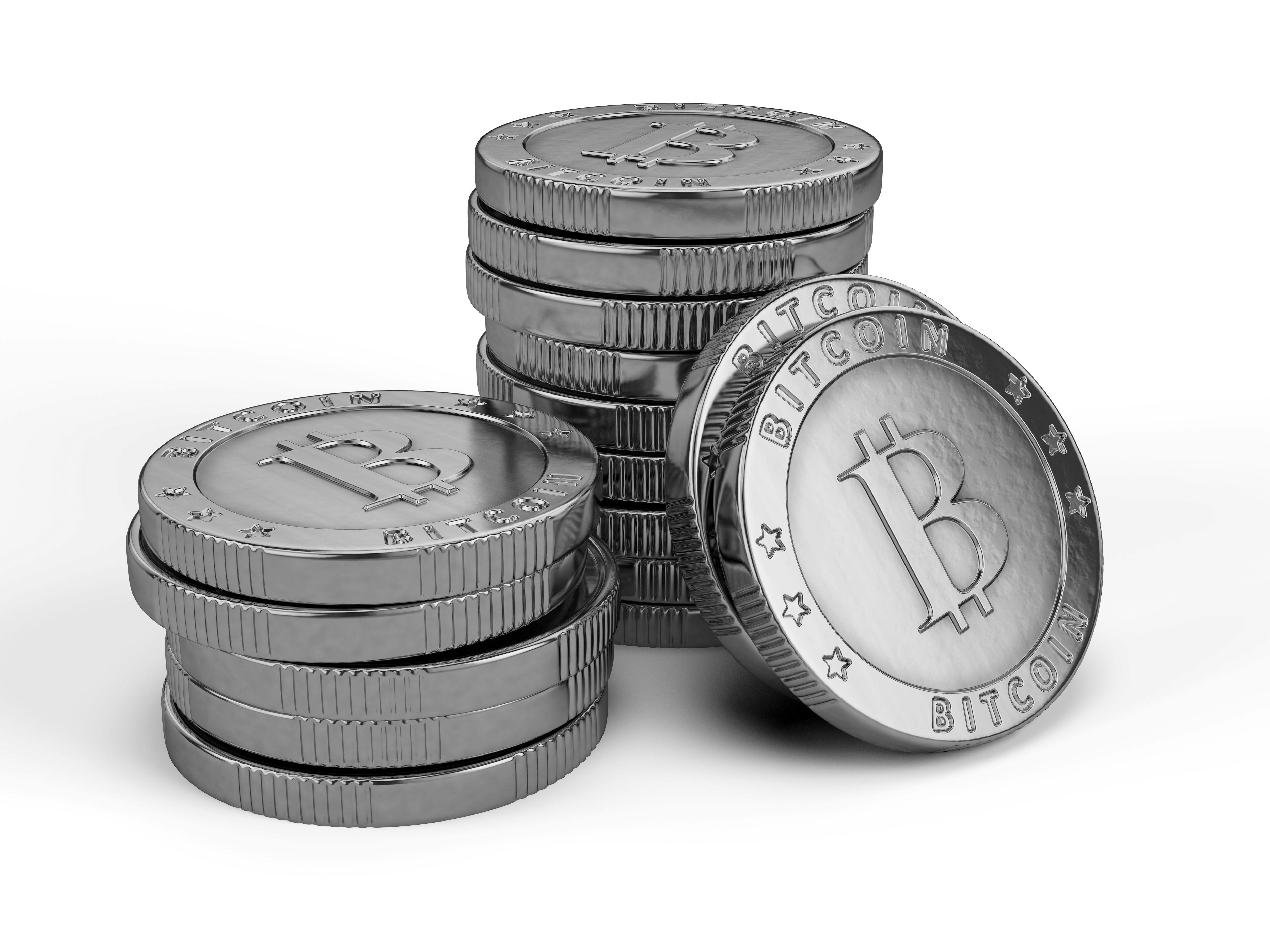 bitcoin b&w